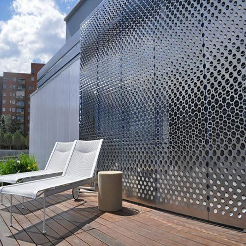Round Perforated Mesh