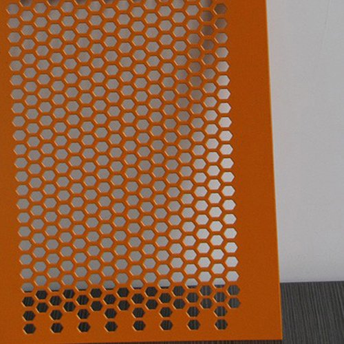 Hexagonal Perforated Mesh